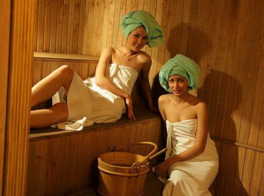 Фото девушки баня